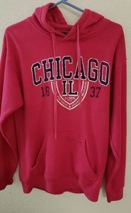 pink chicago hoodie